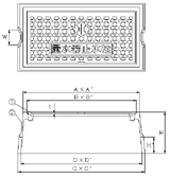 品番 KM-12 水道管口径13-20mm用寸法図
