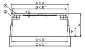 MB-50A 水道管口径50mm用寸法図