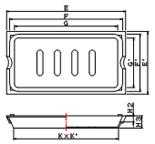 品番KDE-BT5寸法図