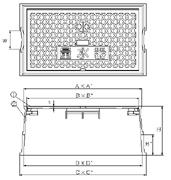 品番 KSK-40 水道管口径30-40mm用寸法図